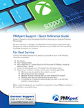 PMXpert Support Reference Guide